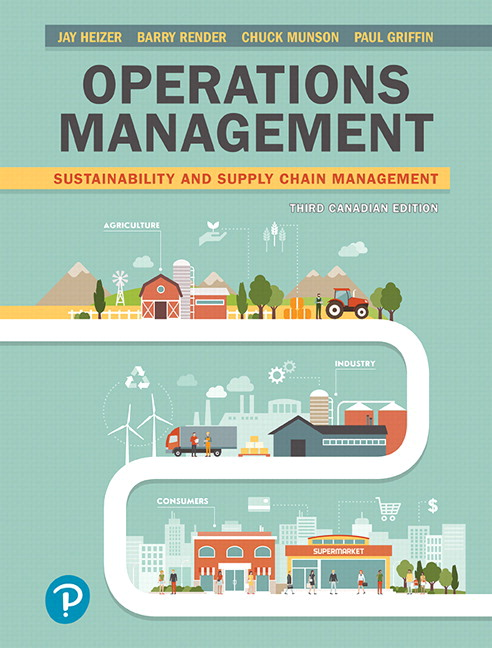 Test Bank for Operations Management: Sustainability and Supply Chain Management