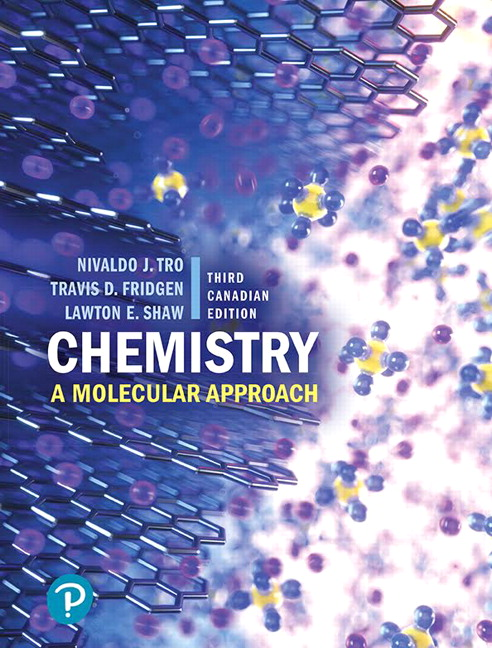 Solution Manual for Chemistry: A Molecular Approach