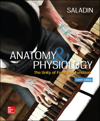 Solution Manual for Anatomy and Physiology: The Unity of Form and Function 8th Edition By Kenneth Saladin
