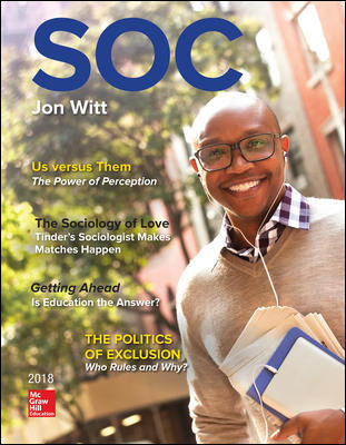 Solution Manual for SOC 2018 5th Edition View Latest Edition By Jon Witt