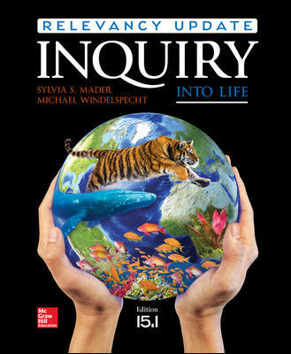 Solution Manual for Inquiry into Life: Relevancy Update 15th Edition By Sylvia Mader