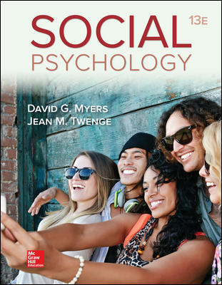 Solution Manual for Social Psychology 13th Edition By David Myers