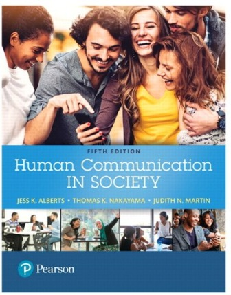 Test Bank for Human Communication in Society