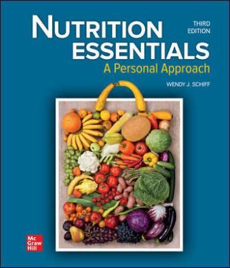 Test Bank for Nutrition Essentials: A Personal Approach