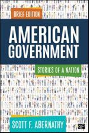 Test Bank for American Government Stories of a Nation Brief Edition Abernathy