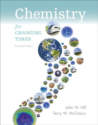 Solution Manual for Chemistry for Changing Times