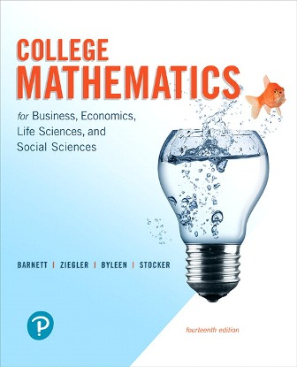 Solution Manual for College Mathematics for Business