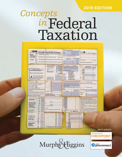 Solution Manual for Concepts in Federal Taxation 2019 26th Edition Murphy