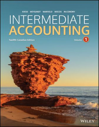 Solution Manual for Intermediate Accounting Volume 1 & 2 12th Canadian Edition Kieso