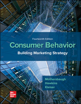 Solution Manual for Consumer Behavior: Building Marketing Strategy 14th Edition By David Mothersbaugh