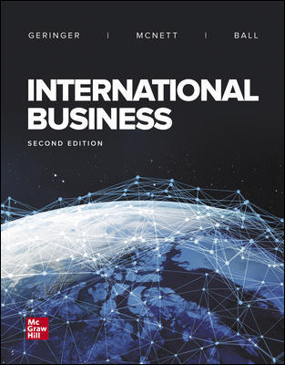 Solution Manual for International Business 2nd Edition By Michael Geringer
