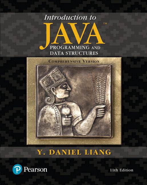 Solution Manual for Introduction to Java Programming and Data Structures