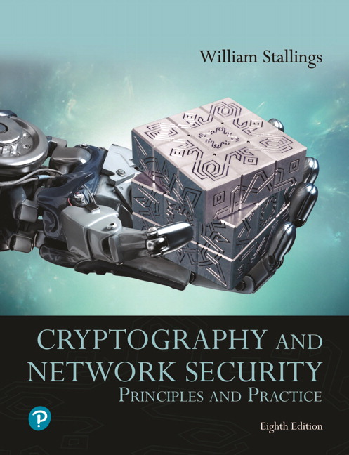 Solution Manual for Pearson eText for Cryptography and Network Security: Principles and Practice 8th Edition