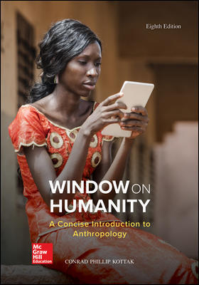 Solution Manual for Window on Humanity: A Concise Introduction to General Anthropology 8th Edition By Conrad Kottak