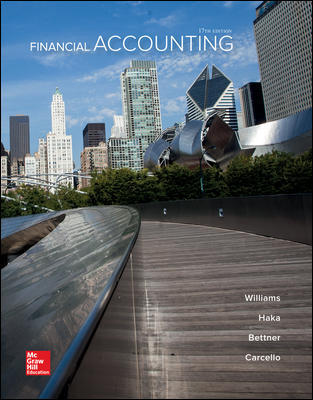 Solution Manual for Financial Accounting 17th Edition By Jan Williams