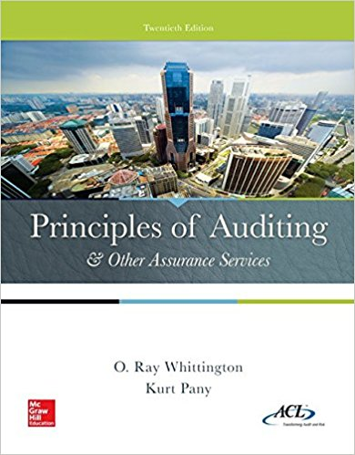 Solution Manual for Principles of Auditing and Other Assurance Services 20th Edition By Ray Whittington