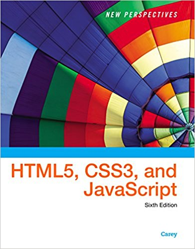 Solution Manual for New Perspectives on HTML5