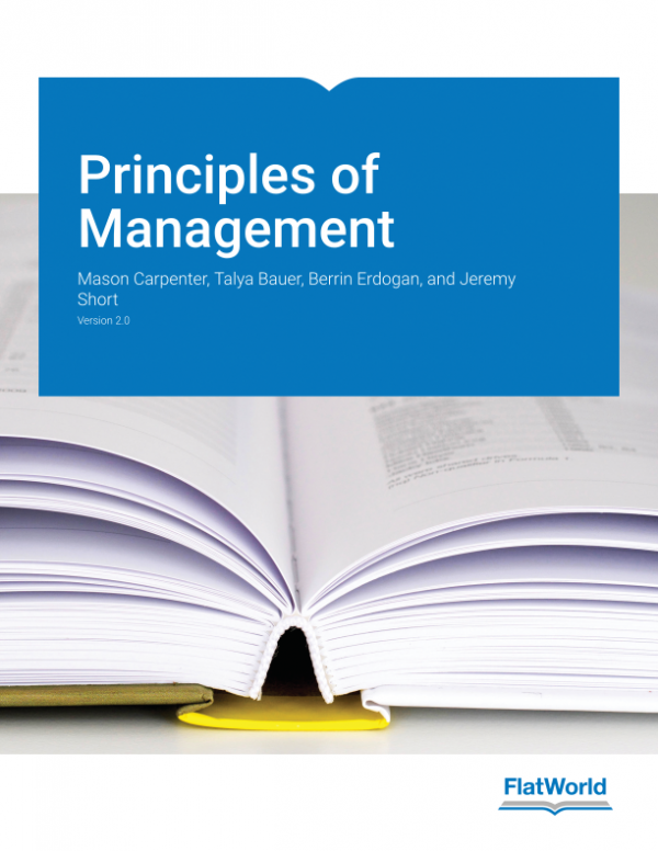 Solution Manual for Principles of Management Version 2.0 1st Edition By Mason A. Carpenter