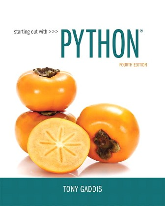 Test Bank for Starting Out with Python 4th Edition Gaddis