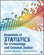 Test Bank for Essentials of Statistics for Criminology and Criminal Justice By Raymond Paternoster