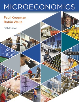 Test Bank for Microeconomics 5th Edition by Paul Krugman