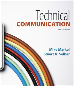 Test Bank for Technical Communication 12th Edition by Mike Markel
