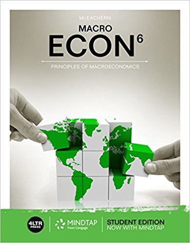 Test Bank for ECON MACRO 6th Edition by Mceachern