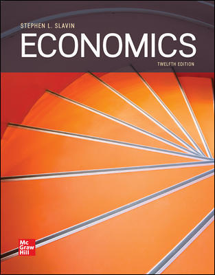 Test Bank for Economics 12th Edition By Stephen Slavin