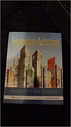 Test Bank for Intermediate Accounting 7th Edition J. David Spiceland