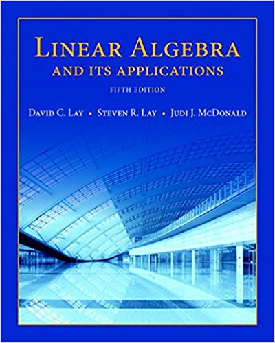 Test Bank for Linear Algebra and Its Applications 5th Edition David C. Lay