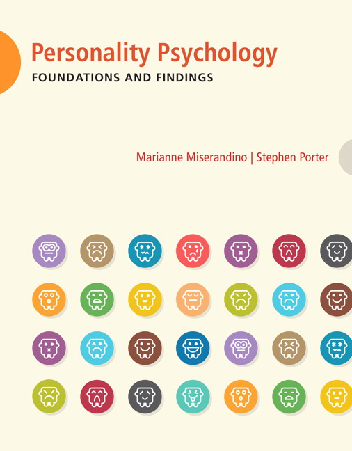 Test Bank for Personality Psychology Foundations and Findings 1st Edition Marianne Miserandia
