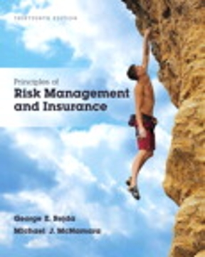 Test Bank for Principles of Risk Management and Insurance 13th Edition George E. Rejda