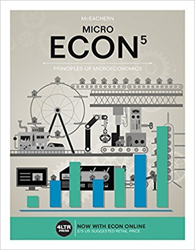 Test Bank for ECON MICRO 5th Edition William A. McEachern