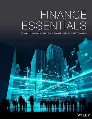 Test Bank for Finance Essentials 1st Edition David S. Kidwell