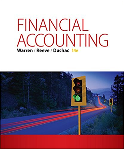 Test Bank for Financial Accounting 14th Edition Carl S. Warren