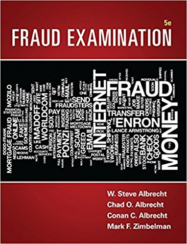Test Bank for Fraud Examination 5th Edition W. Steve Albrecht