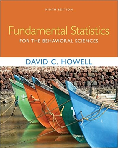 Test Bank for Fundamental Statistics for the Behavioral Sciences 9th Edition David C. Howell