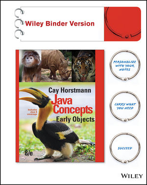 Test Bank for Java Concepts: Early Objects 8th Edition Cay S. Horstmann