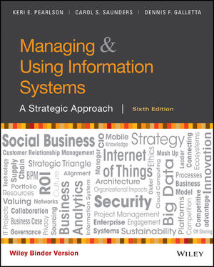 Solution Manual for Managing and Using Information Systems: A Strategic Approach