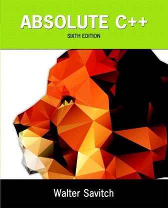 Test Bank for Absolute C++