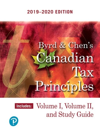 Test Bank for Canadian Tax Principles, 2019-2020 Edition, Clarence Byrd, Ida Chen, ISBN-10: 0135762545, ISBN-13: 9780135762547