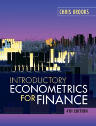 Test Bank for Introductory Econometrics for Finance 4th Edition Brooks