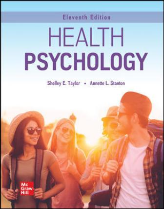 Solution Manual for Health Psychology