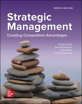 Test Bank for Strategic Management: Creating Competitive Advantages 10th Edition Dess