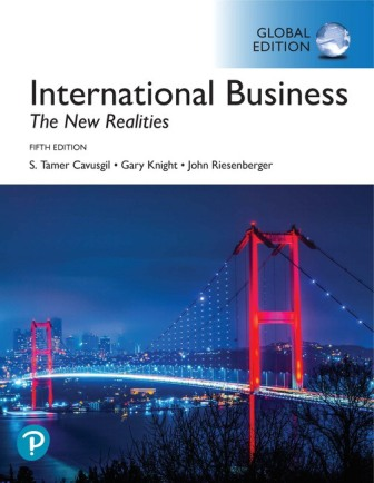 Test Bank for International Business: The New Realities Global Edition 5th Edition Cavusgil (Copy)