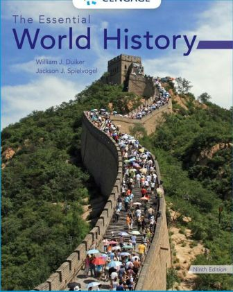 Test Bank for The Essential World History 9th Edition Duiker