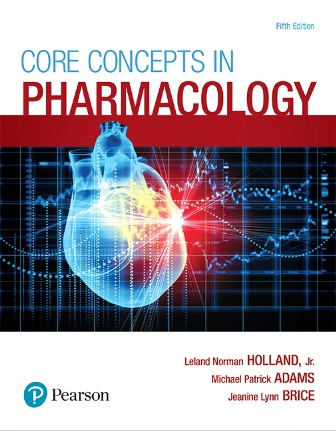 Solution Manual for Core Concepts in Pharmacology