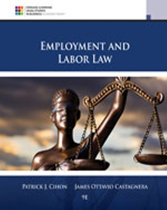 Solution Manual for Employment and Labor Law 9th Edition Cihon