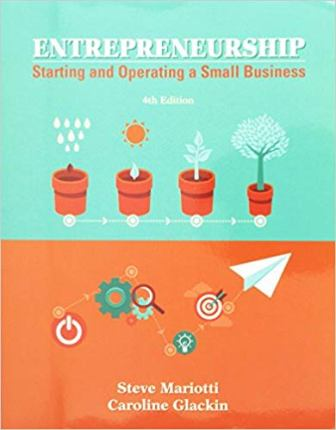 Solution manual for Entrepreneurship: Starting and Operating a Small Business