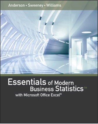 Solution manual for Essentials of Modern Business Statistics with Microsoft Excel